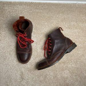 Allen Edmonds Normandy Brown Leather Boot Size 9